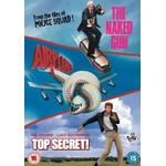 Top gun dvd Filmer The Naked Gun (1988) / Airplane! (1980) / Top Secret! (1984) [DVD] [2008]